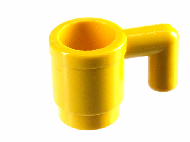 5x Lego 3899 Tasse Glas Becher rot 389921