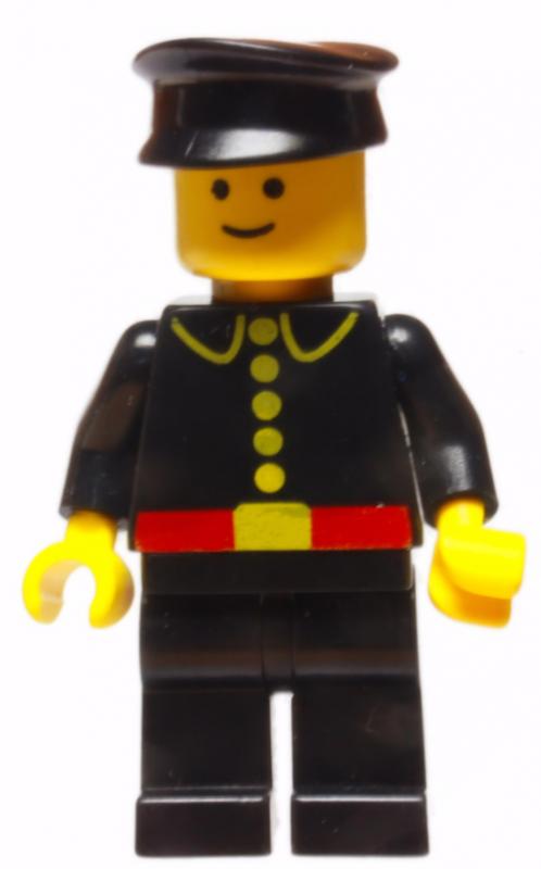 Minifigur - City - Feuerwehrmann - Set 4025 - 1982
