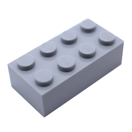 3001 4211385 Baustein 2 x 4 - hellgrau