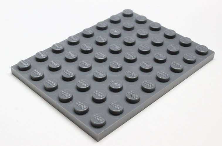 3036 4210794 Bauplatte 6 x 8 - dunkelgrau