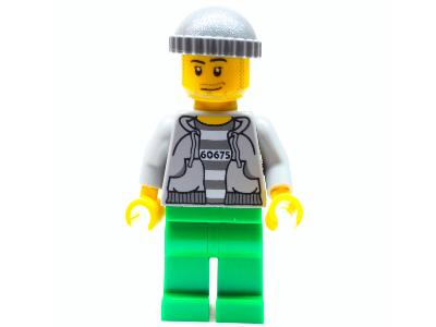 Minifigur - City - Strafgefangener - cty0288 - Set 60675