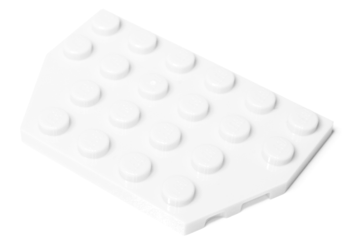 32059 4508408 Bauplatte Flügelplatte 4 x 6 - weiß