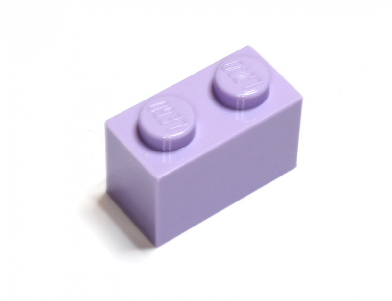 3004 6099352 Baustein 1 x 2 - lavender