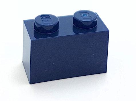 3004 4249891 Baustein 1 x 2  - dunkelblau