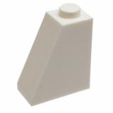 60481 4515370 Schrägstein 2 x 1 x 2 65° - weiß