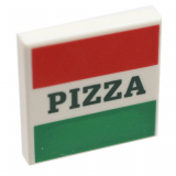 29716 6175184 Fliese 2 x 2 - Pizza