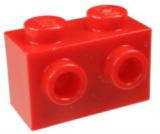 11211 6019155 Stein 1 x 2 mit 2 seitlichen Noppen - rot