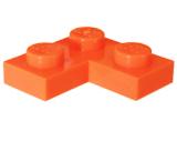 2420 6106027 Platte 1 x 2 x 2 - orange