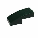 11477 66055225 Bogenstein 1 x 2 x 2/3 - Dunkel grün