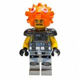 Minifigur - Ninjago Movie - Private Puffer - 70657 - Ninjago City Docks