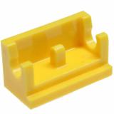 3937 393724 Scharnierteil Basis 1 x 2 - gelb