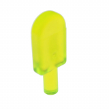 30222 4568173 Eislolli - transparent Neongrün