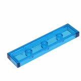 91143 4590989 Fliese 1 x 4 - transparent blau