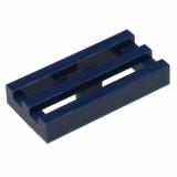 2412 6022579 Gitterfliese 1 x 2 - dunkelblau