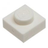 3024 302401 Platte 1 x 1 - weiß