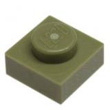 3024 6058245 Platte 1 x 1 - olivgrün