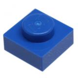 3024 302423 Platte 1 x 1 - blau