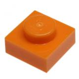 3024 4524929 Platte 1 x 1 - orange
