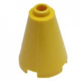 14918 6055404 Kegelstein 2 x 2 x 2 - gelb