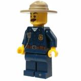 Minifigur - City - Polizeichef - cty870- 60174