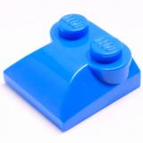 47457 4496366 Stein 2 x 2 gerundet mit 2 Noppen - blau