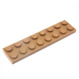 3034 4246957 Platte 2 x 8 - dunkelbeige