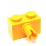 2458 245824 Stein 1 x 2 mit Pin - gelb