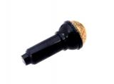 20274 6104328 Mikrofon - schwarz perlgold