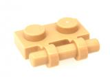 2540 4140593 Platte 1 x 2 mit Griff - beige