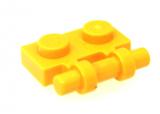 2540 4140587 Platte 1 x 2 mit Griff - gelb
