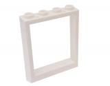 6154 4599974 Fensterrahmen 1 x 4 x 4 - weiß