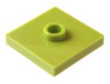 87580 6056291 Platte 2 x 2 mit 1 Noppe - hellgrün
