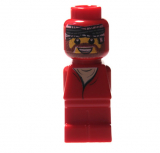 4560462 Mikrofigur - Ramses Pyramid - Spieler Rot