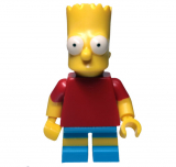 Minifigur - The Simpsons - Bart Simpson