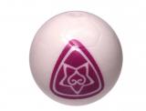 13067 6023212 Fußball - weiß/pink
