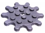 35443 6252371 Zahnrad 4 x 4 Z10 - dunkelgrau