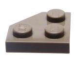 26601 6228921 Platte 2 x 2 mit Ecke 45° - dunkelbeige