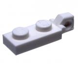 44301 4183035 Scharnierplatte 1 x 2 - weiß