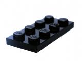 3020 302026 Platte 2 x 4 - schwarz
