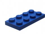 3020 302023 Platte 2 x 4 - blau