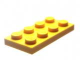 3020 302024 Platte 2 x 4 - gelb
