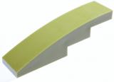 11153 6042961 Stein 1 x 4 gerundet - olivgrün