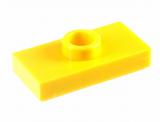 15573 6092583 Platte 1 x 2 mit 1 Noppe - gelb
