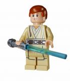 Minifigur - Star Wars - sw0812 - Obi-Wan Kenobi mit Laserschwert