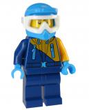 Minifigur - City - cty904 - 60191 - Arktis - Schneemobilfahrer