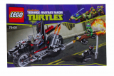 Bauanleitung Bauplan - Teenage Mutant Ninja Turtles - Set 79101