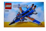 Bauanleitung - Creator - Düsenjet - Set 31008