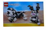 Bauanleitung - Creator - Hund und Hase - Set 31021