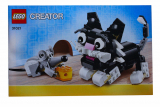 Bauanleitung - Creator - Katze und Maus - Set 31021