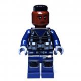 LEGO® - Minifigur - Jurassic World - jw035 - Wächter Mohawk Wide - Set 75931